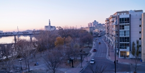 The Beautiful Waterfront Drive Skyline