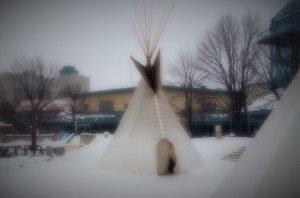 The  Warmth of a Tepee