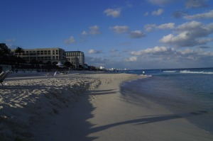 Cancun on a Winter's Day