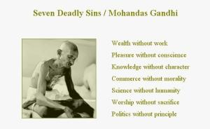 gandhi seven