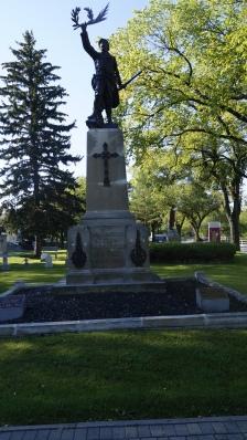 Memorial to fallen World War 1 soldiers