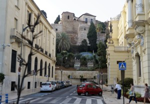 A view of Málaga's Alcazaba